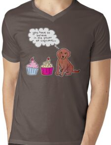 Cupcake Power Mens V-Neck T-Shirt