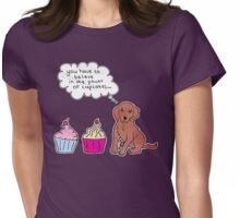 Cupcake Power Womens Fitted T-Shirt