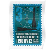 Starship 03 - poststamp - Vostok Poster