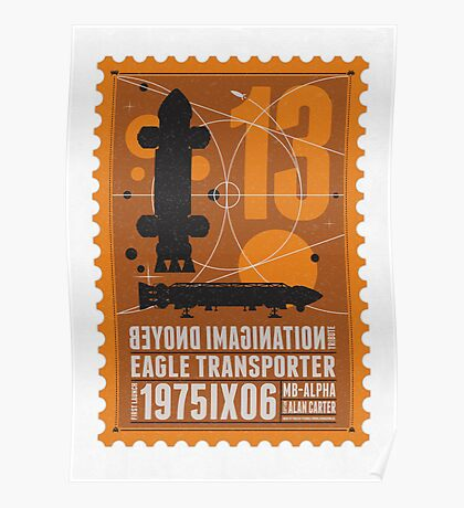 Starship 13 - poststamp - Space1999  Poster