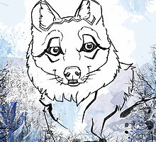 Mexican Wolf by jbirdistheword