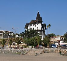 Townhall of Papudo, Chile by Daidalos
