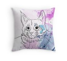 The Purple One Throw Pillow