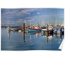 Yarmouth harbour Poster