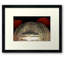 Martian Church Framed Print