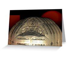 Martian Church Greeting Card
