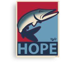 Musky Hope Canvas Print
