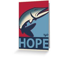 Musky Hope Greeting Card