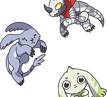 Even More Digimon by Clair C