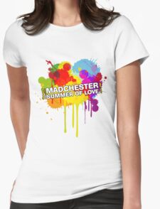 Madchester T-shirt Womens Fitted T-Shirt