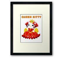 Queen Kitty Framed Print
