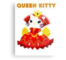 Queen Kitty Metal Print
