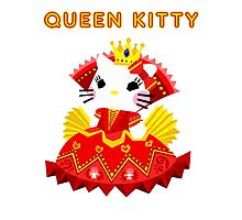 Queen Kitty Photographic Print