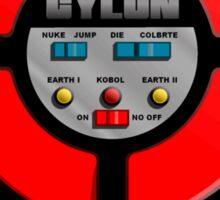 Cylon Says Sticker