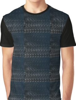 Knitted Stone. Graphic T-Shirt