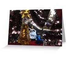 The glittering ballroom Greeting Card