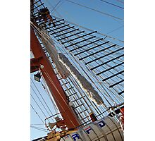 Climbing the Rigging  Photographic Print