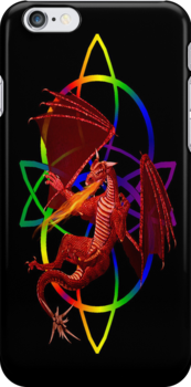 Dragon`s Fire .. iphone case by LoneAngel