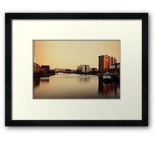 Belfast... Framed Print