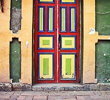 Old colorful door  by Maria  Gonzalez