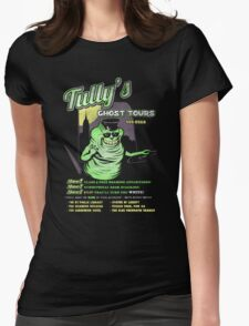 Tully's Ghost Tours Womens Fitted T-Shirt