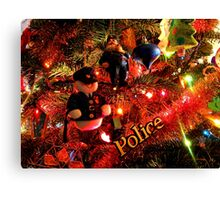 Officers Christmas II Canvas Print
