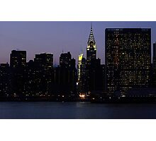 VIEW FROM LONG ISLAND CITY TO THE UNITED NATIONS Photographic Print