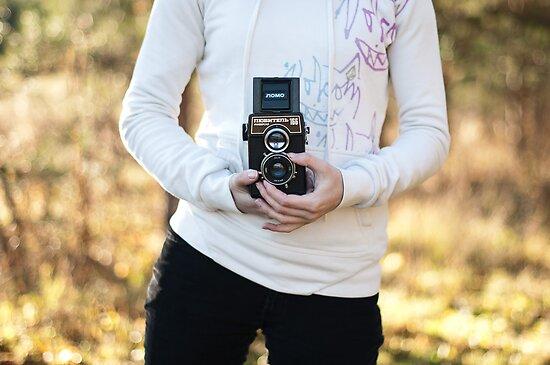 Vintage lomo camera by Anete Bauere