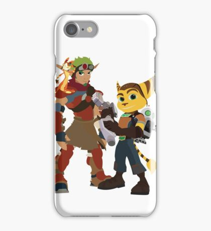 A Boy and His Lombax iPhone Case/Skin
