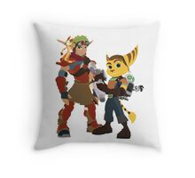 A Boy and His Lombax Throw Pillow