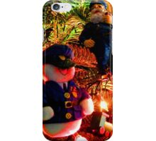 Officers Christmas I iPhone Case/Skin