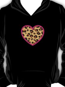 Leopard Heart T-Shirt