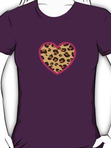 Leopard Heart T-Shirt