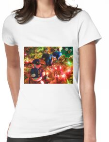 Officers Christmas I Womens Fitted T-Shirt