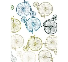 Antique Bicycle Array Photographic Print
