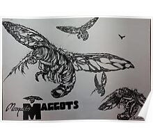 Mosquito Maggots  Poster