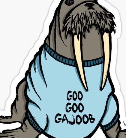 I am the Walrus Sticker