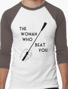 The woman who beat Sherlock Holmes Men's Baseball ¾ T-Shirt