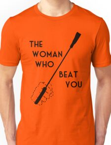 The woman who beat Sherlock Holmes Unisex T-Shirt