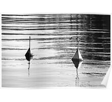 Buoys will be buoys. Poster