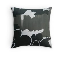 Derelict Chimes Throw Pillow