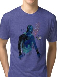 love and gravity version 34217 Tri-blend T-Shirt