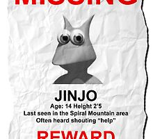 Missing Jinjo by Almeister5000