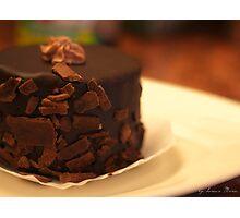 chocolate mousse torte Photographic Print
