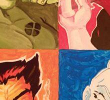 Achromatic X-men Sticker