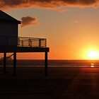 SeaQuarium sunset by Meladana
