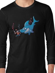 Sharks are Furious, Stop Finning! Long Sleeve T-Shirt