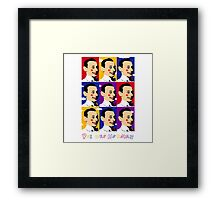 Pee wee Herman Framed Print