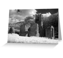 Mount Grace Priory, North Yorkshire Greeting Card