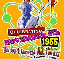 Celebrate November 5th 1955 by Robiberg